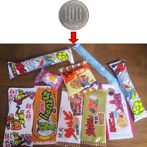 日本的零食-日本のお菓子-