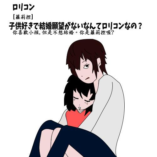 ロリコン【蘿莉控】