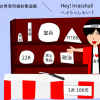 「台男&港男」専用槍射擊遊戲/「台湾男と香港男」専用射的の屋台